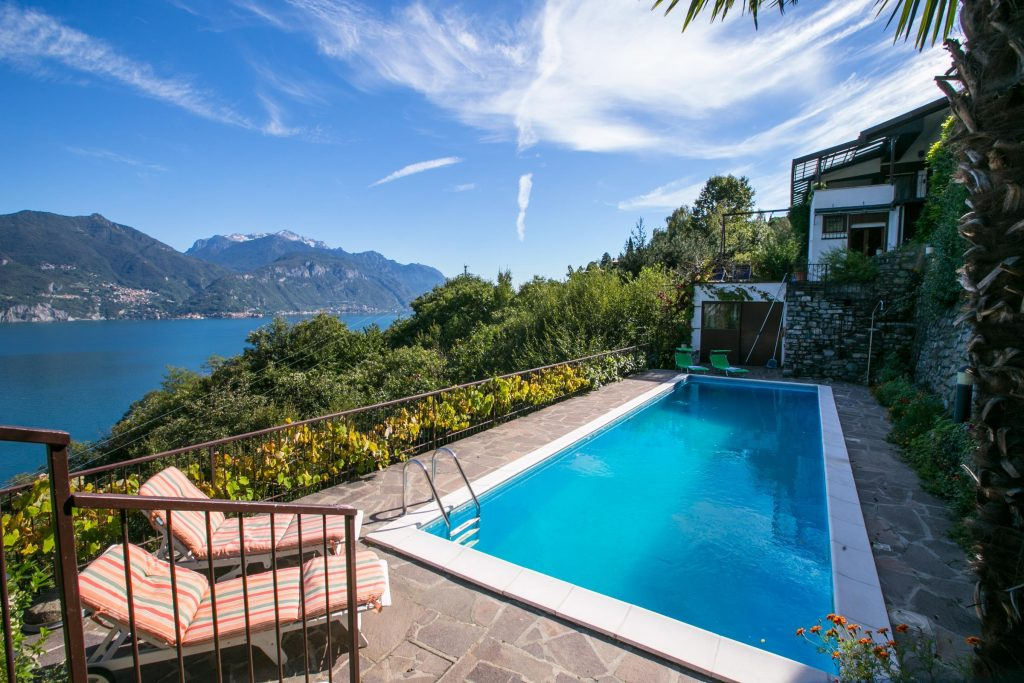 Lake Como Villa with pool